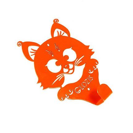 Вешалка настенная Glozis Kitty Orange, фото 2