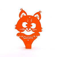 Вешалка настенная Glozis Kitty Orange