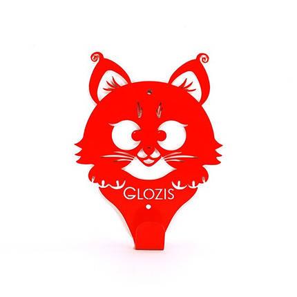 Вешалка настенная Glozis Kitty Red, фото 2