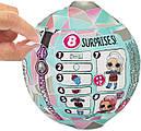 Лялька ЛОЛ Блискучий Куля L. O. L. Surprise! Glitter Globe Doll Winter Disco, фото 2