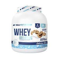 Сывороточный протеин AllNutrition Whey Delicious 2,27 kg