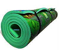 Детский коврик 2000×1100×12мм, «Городок», теплоизоляционный, развивающий, игровой коврик., фото 1