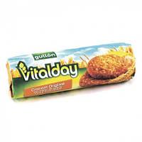 Цельнозерновое, злаковое, овсяное печенье Gullon Vitalday Crocant Original  300 г