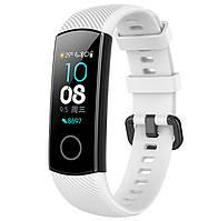 Силиконовый ремешок Primo для фитнес-браслета Huawei Honor Band 4 / 5 - White, фото 1