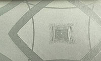 Ткань скатертная DIANA польского производства водоотталкивающая с узором, ширина 160 см, плотность 190 г/м2 оливковый