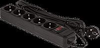 Сетевой фильтр LogicPower LP-X6 3 м 6 розеток Black