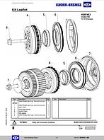 Комплект 2271849 K097453K50 (для компрессора LS3907, LS4903, LS4905) Knorr-Bremse