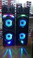 Комплект акустики LEXCO DPL-2100 с радиомикрофоном / 400W (USB/FM/Bluetooth) Пара