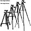 Штатив трипод Tripod 3120 тринога для екшн камер, смартфонів, телефонів, відеокамер і фотоапаратів, фото 9