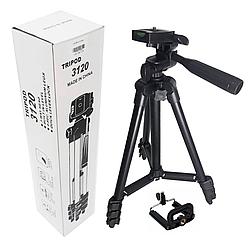 Штатив трипод Tripod 3120 тренога для экшн камер, смартфонов, телефонов, видеокамер и фотоаппаратов