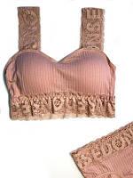 Комплект белья B Розовый 030