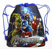 Рюкзак-мешок для игушек или спортивной формы с супергероями