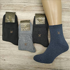 Мужские носки махровые тёплые спорт SPORT L-V 41-45р ассорти  НМЗ-040434