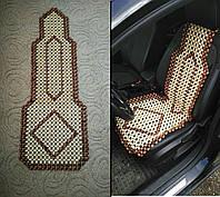 Накидка на сиденье шариковый массажер с подголовником деревянная массажная кресло