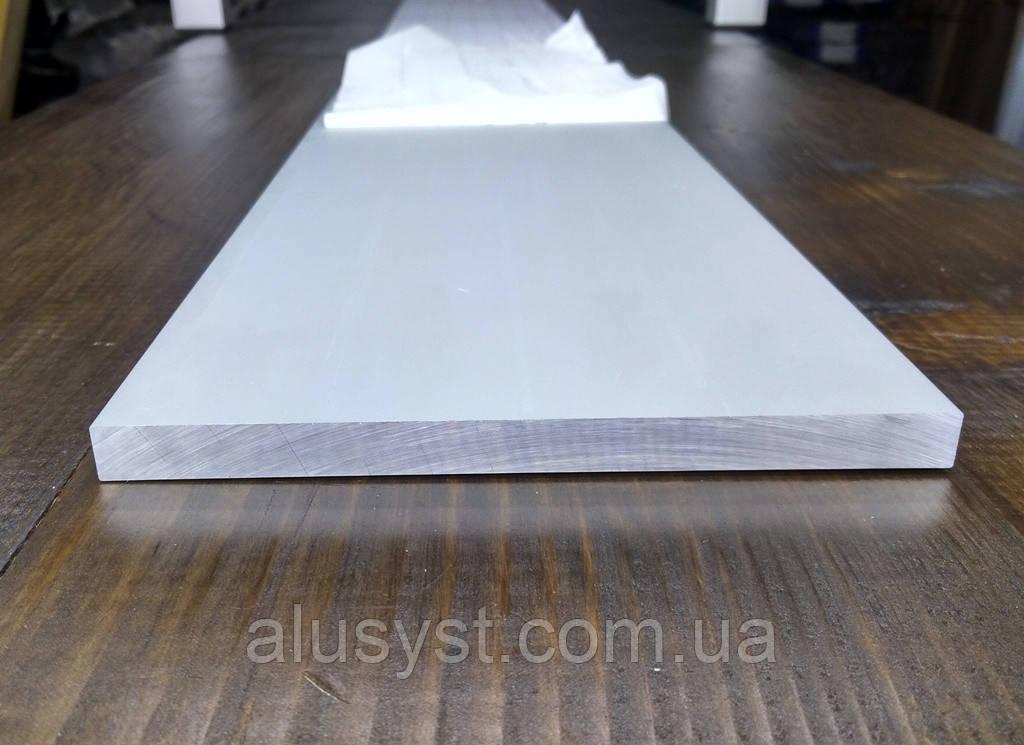 Алюминиевая полоса 140х10мм, анод 100мм  Шина