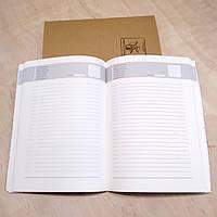 Блок не датированного ежедневника формат А5 для кожаных блокнотов, фото 1