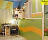Стенка в детскую со столом и шкаф-кровать трансформер