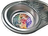 Кухонная мойка (врезная) GALATI (EKO) DANA NOVA SATIN, фото 7