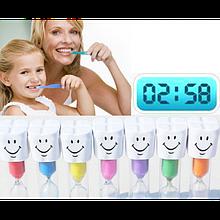 Песочные часы улыбающиеся для детей и их родителей интервал три минуты