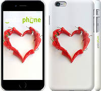 "Чехол на iPhone 6 Plus Любовь с перцем ""730c-48"""