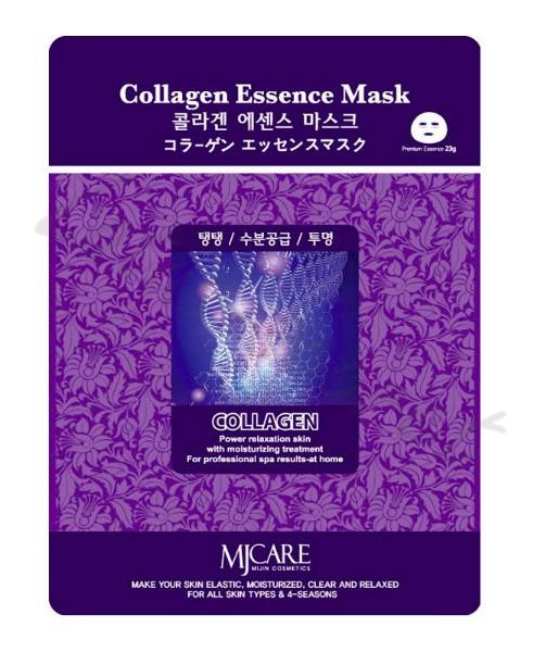 Тканевая маска с коллагеном MJ Care Collagen Essence mask