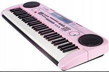 Большой детский синтезатор с USB входом, микрофоном и караоке, фото 3