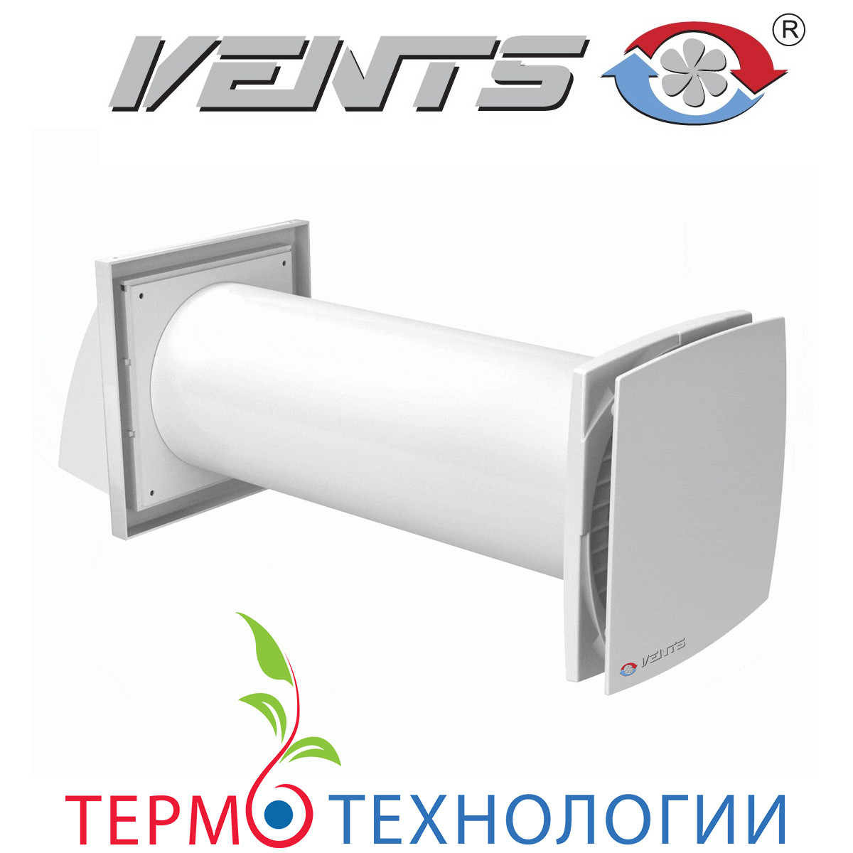 Рекуператор Vents Solo для вентиляции помещения до 25 м.кв.