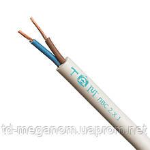 Провод бытовой ПВС белый 2х1,0