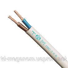 Провод бытовой ПВС белый 2х6,0
