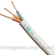 Провод бытовой ПВС белый 3х1,0