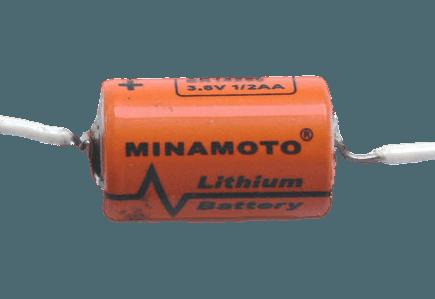 Літієва Батарейка 1/2AA MINAMOTO 3,6 вольт ER14250/P