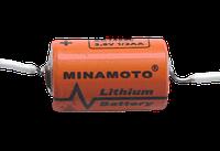 Батарейка литиевая  1/2AA MINAMOTO 3,6 вольт ER14250/P