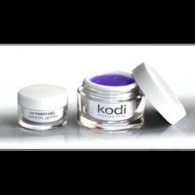 Kodi Uv Finish Gel Crystal Depth (Финиш гель с липким слоем) 28 мл.