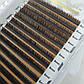 Ресницы СС 0.1 mix (5-7mm) Dark Brown от Sculptor Lash, фото 2