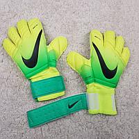 Вратарские перчатки Nike Vapor Grip зеленый