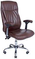 Кресло Аризона Хром М-1  Кожзам Черный
