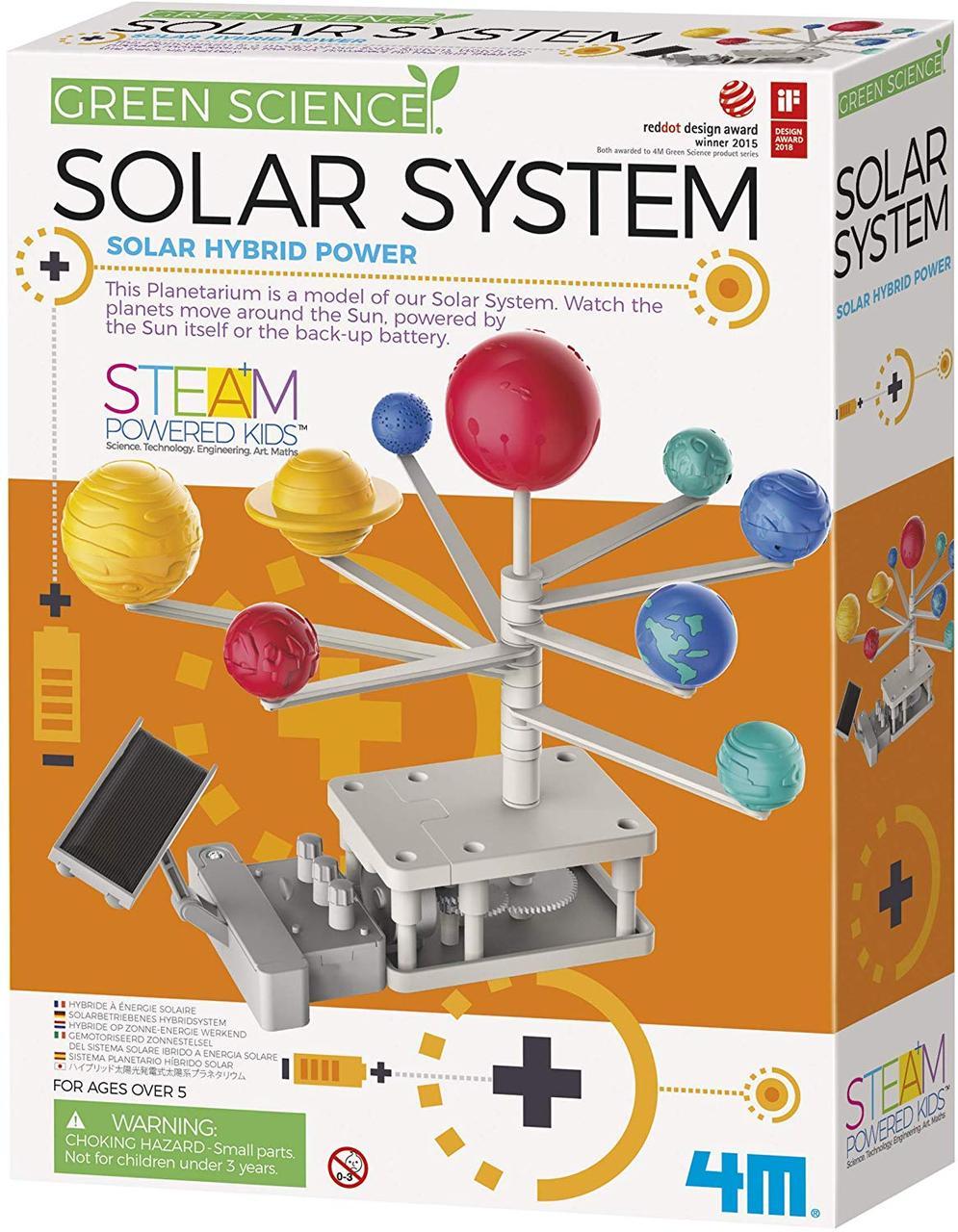 Набор для опытов Модель солнечной системы 4M (00-03416)