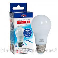LED лампа A55 7W, 4500К, Е27