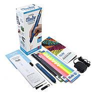 3D-ручка 3Doodler Create PLUS для проф. использования - СИНЯЯ (75 cтержней, аксессуары) (8CPSBEEU3E)