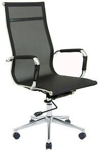 Офисное кресло Richman Кельн Хром сетка-черная для персонала