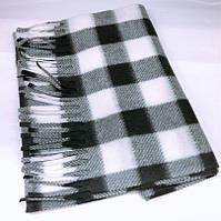 Стильный мужской шарф в клетку