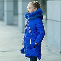 Модная  зимняя куртка  для девочки интернет магазин в Украине, фото 1