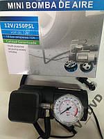 Насос компрессор автомобильный 12V  250PSI  Акция !