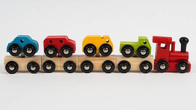 Деревянный паровозик.93-945.