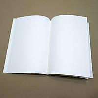 Блок молочно-белой бумаги формат А5 для кожаных блокнотов, фото 1