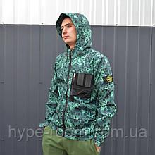 Куртка в стиле Stone Island x Supreme Размер М
