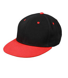 Кепка Cнепбек Черный / Красный
