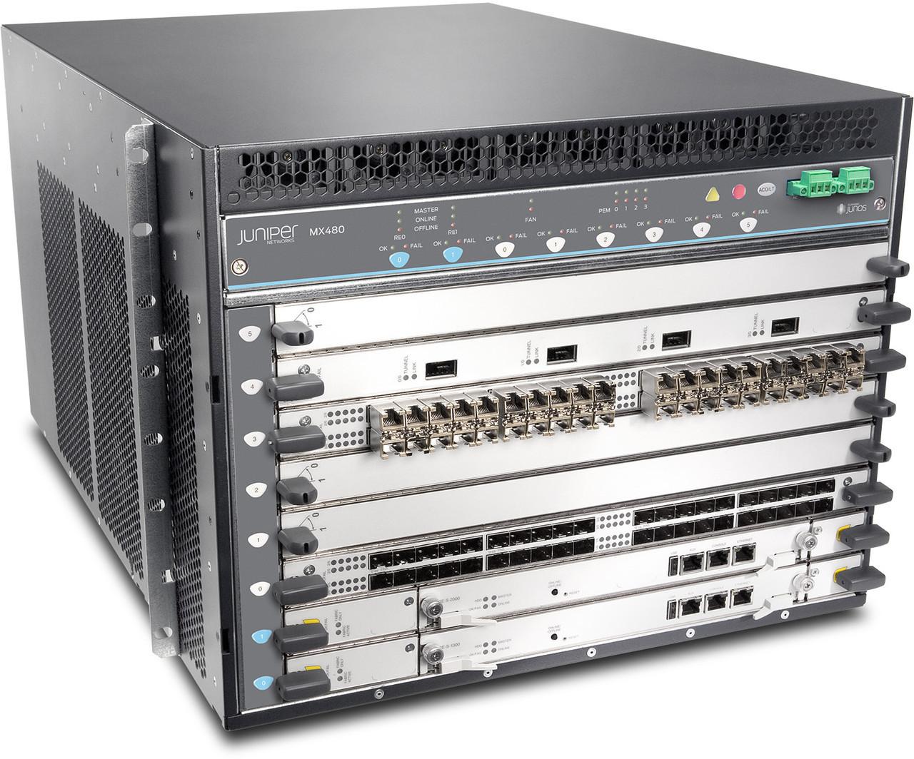 Маршрутизатор Juniper MX480-PREM3-AC