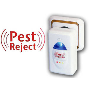 Отпугиватель насекомых и грызунов Pest Reject электромагнитные волны + ультразвук, фото 2