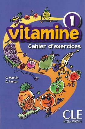 Vitamine 1 Cahier d`exercices + CD audio + portfolio (Робочий зошит), фото 2